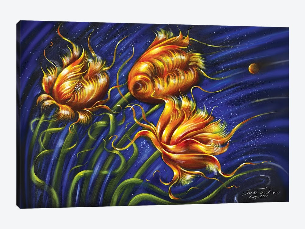 Spulips by Susi Galloway 1-piece Canvas Print