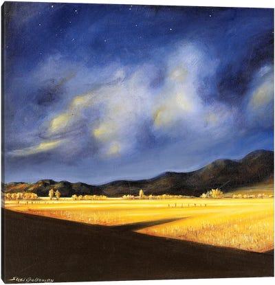Golden Fields Canvas Art Print