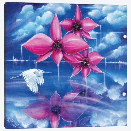 Beyond The Rainbow Canvas Print #SGA8} by Susi Galloway Canvas Wall Art