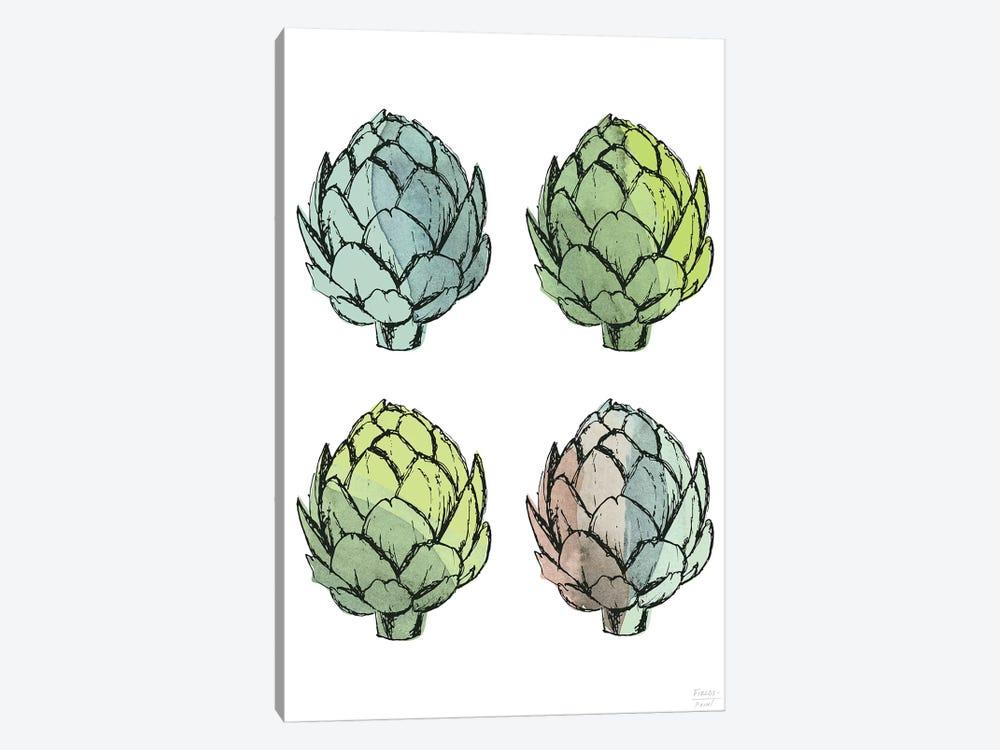 Four Artichokes by Statement Goods 1-piece Canvas Print