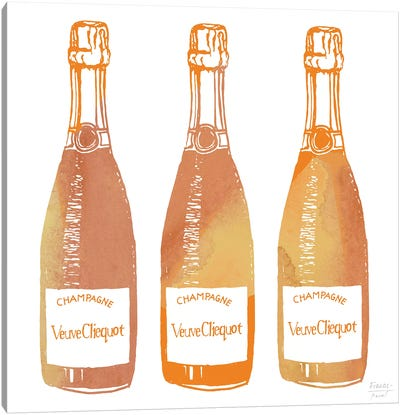 Veuve Cliequot Champagne Canvas Art Print