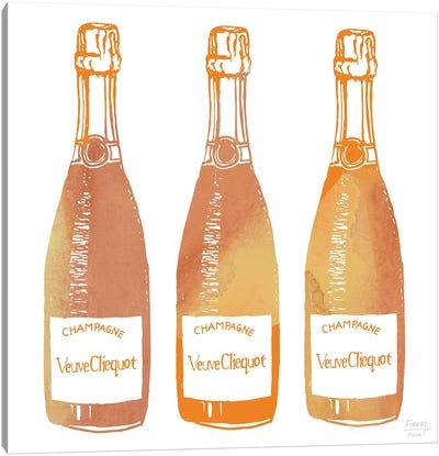 Veuve Cliequot Champagne Canvas Art Print
