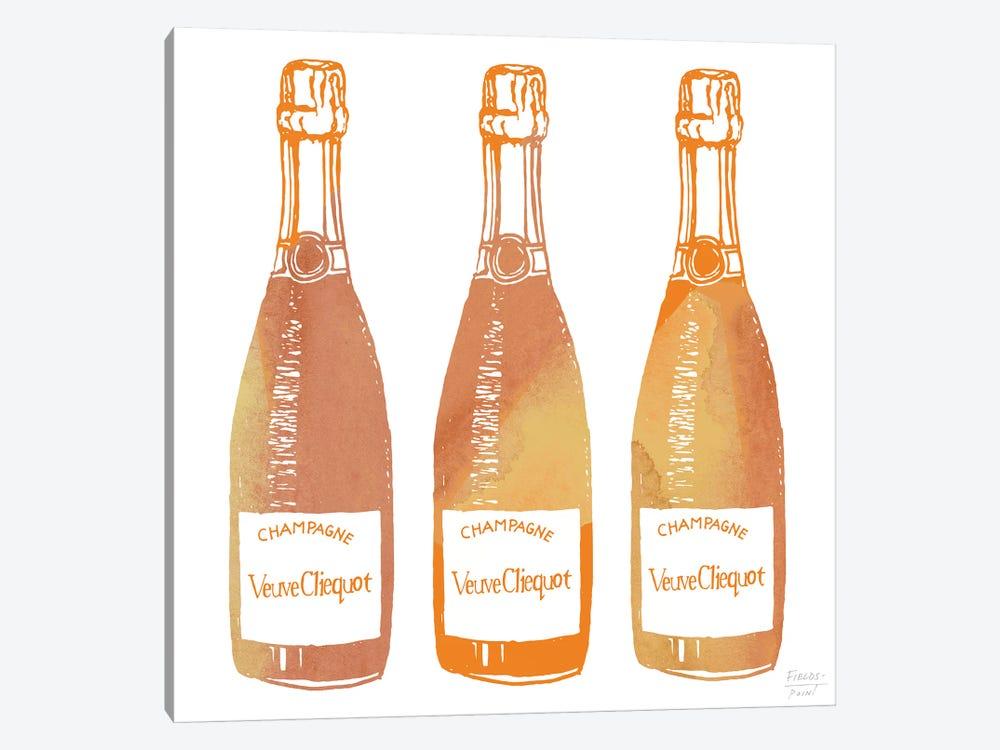 Veuve Cliequot Champagne by Statement Goods 1-piece Canvas Artwork