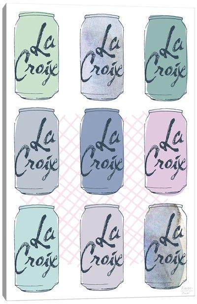 La Croix Nine Pack Canvas Art Print