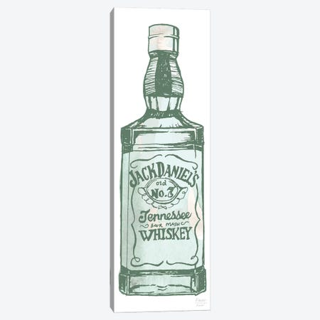 Jack Daniel's Whiskey Canvas Print #SGD104} by Statement Goods Canvas Art Print