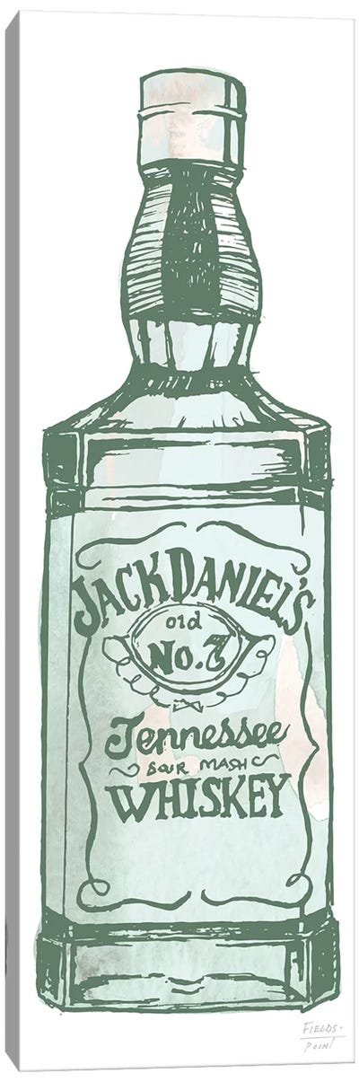 Jack Daniel's Whiskey Canvas Art Print