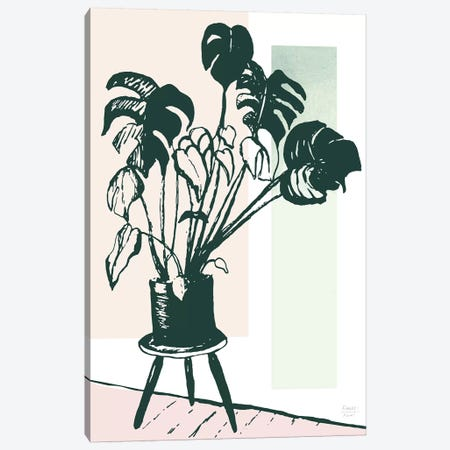 Plant Life Canvas Print #SGD106} by Statement Goods Art Print