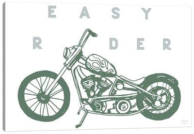 Easy Rider Motorcycle Canvas Art Print