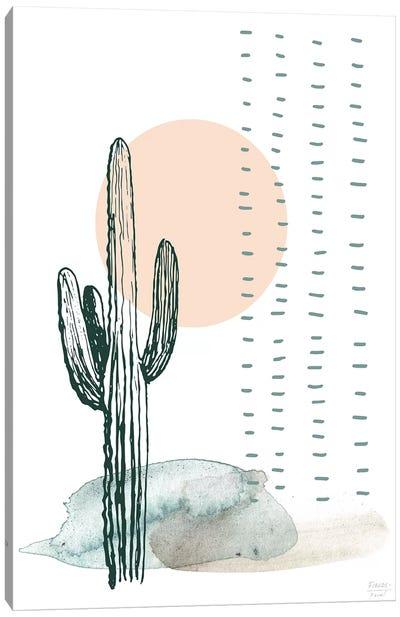 Desert Cactus Canvas Art Print