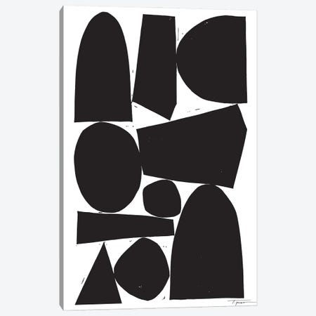 Constructed II Canvas Print #SGD115} by Statement Goods Canvas Wall Art
