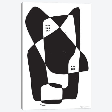 Opposites II Canvas Print #SGD117} by Statement Goods Canvas Artwork