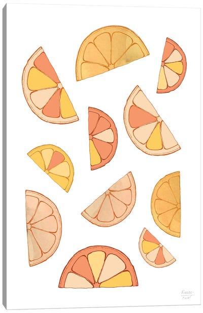 Orange Slices Canvas Art Print