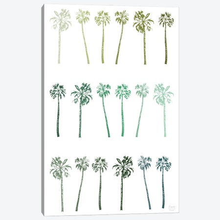 Palm Trees Canvas Print #SGD124} by Statement Goods Art Print