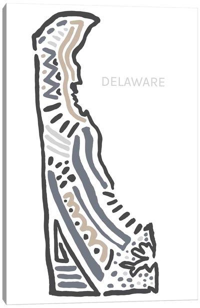 Delaware Canvas Art Print