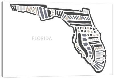 Florida Canvas Art Print