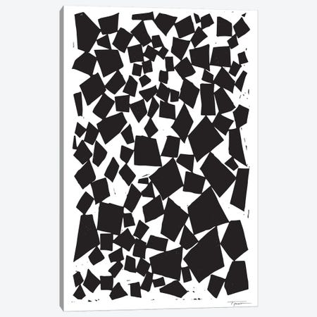 Geometric Squares And Trapezoids Canvas Print #SGD19} by Statement Goods Art Print
