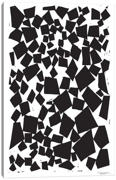 Geometric Squares And Trapezoids Canvas Art Print