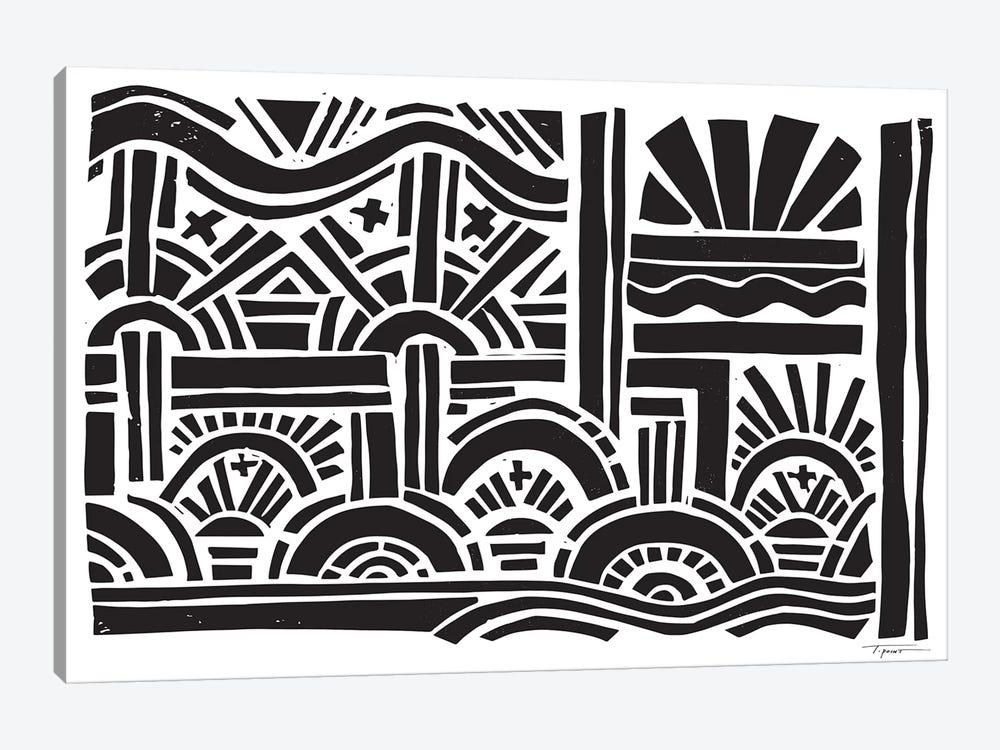 Geometric Sunburst by Statement Goods 1-piece Art Print