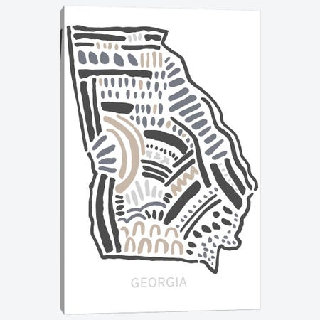 Georgia Canvas Print #SGD21} by Statement Goods Canvas Artwork