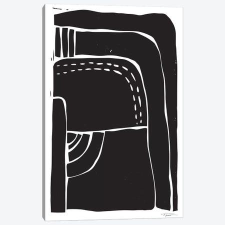 Heavy Minimalist Shapes 3-Piece Canvas #SGD24} by Statement Goods Canvas Art Print