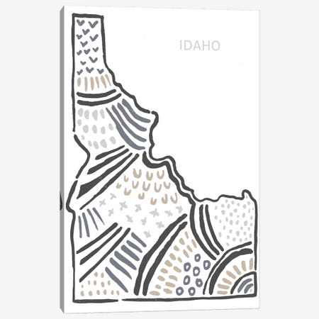 Idaho Canvas Print #SGD25} by Statement Goods Art Print