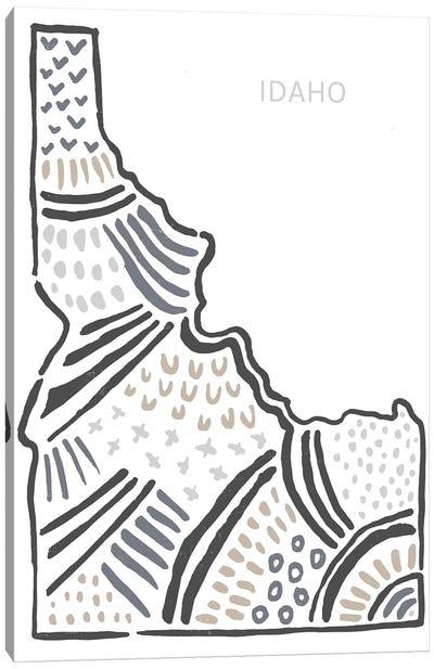 Idaho Canvas Art Print