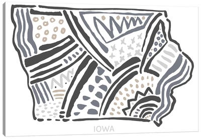 Iowa Canvas Art Print