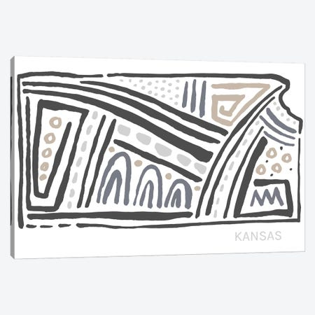 Kansas Canvas Print #SGD29} by Statement Goods Canvas Art
