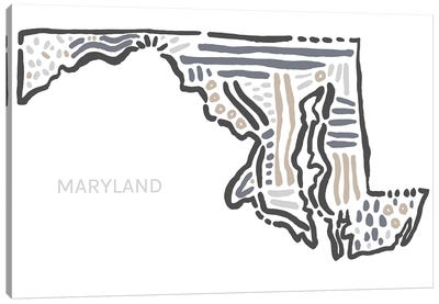 Maryland Canvas Art Print