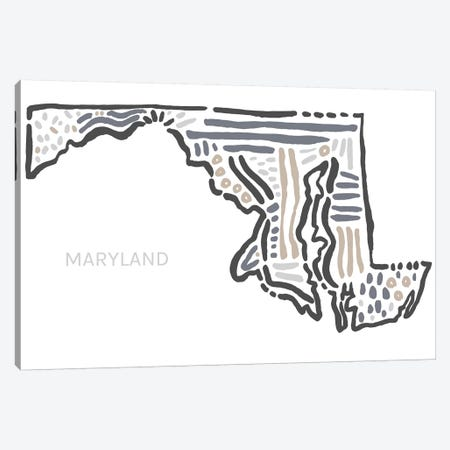 Maryland Canvas Print #SGD36} by Statement Goods Canvas Wall Art