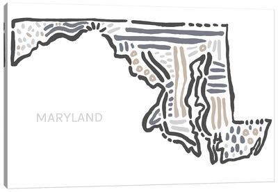 Maryland Canvas Art Print