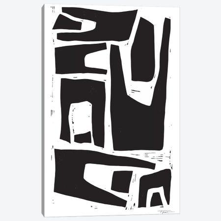 Minimalist Organic Shapes Canvas Print #SGD39} by Statement Goods Canvas Art Print