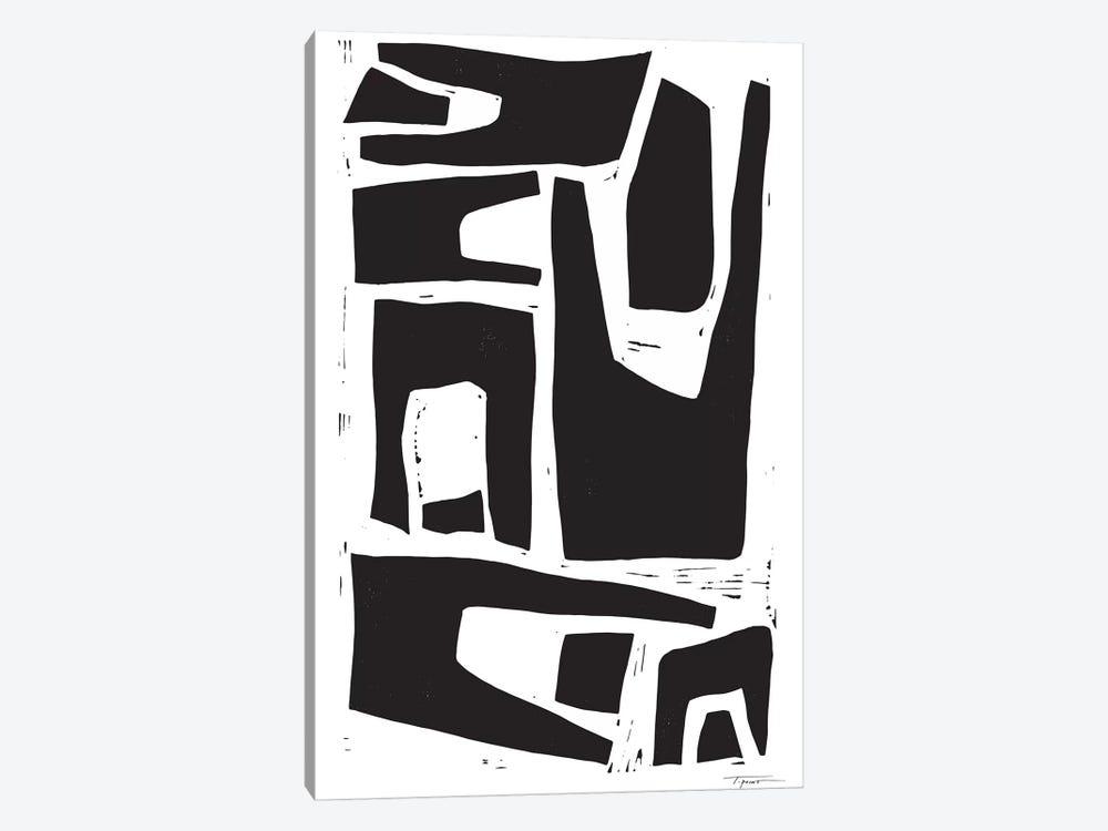 Minimalist Organic Shapes by Statement Goods 1-piece Canvas Print