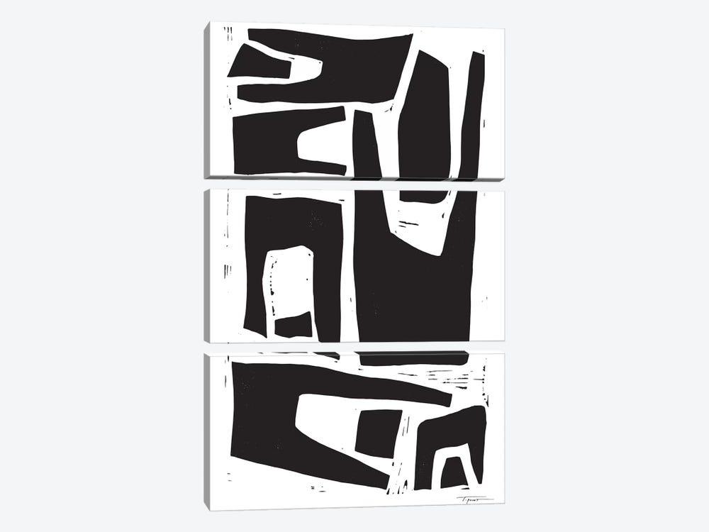 Minimalist Organic Shapes by Statement Goods 3-piece Canvas Print
