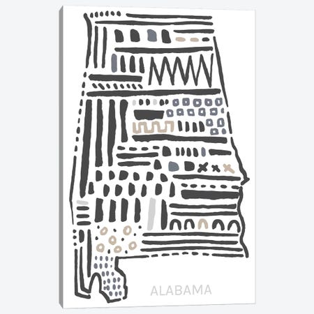 Alabama Canvas Print #SGD3} by Statement Goods Canvas Art Print