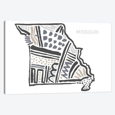 Missouri Canvas Print #SGD42} by Statement Goods Canvas Wall Art