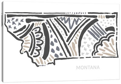 Montana Canvas Art Print