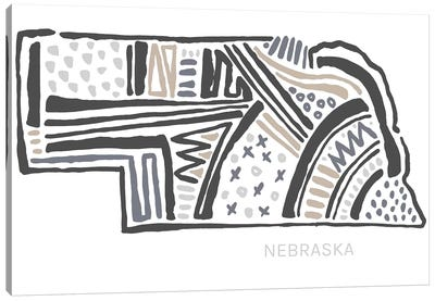Nebraska Canvas Art Print