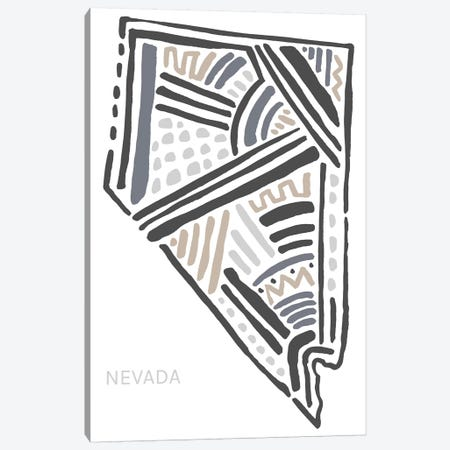 Nevada Canvas Print #SGD48} by Statement Goods Canvas Art