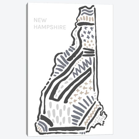 New Hampshire Canvas Print #SGD49} by Statement Goods Canvas Art