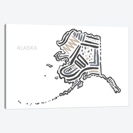 Alaska Canvas Print #SGD4} by Statement Goods Canvas Wall Art