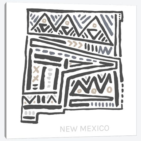 New Mexico Canvas Print #SGD51} by Statement Goods Canvas Art Print