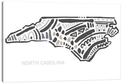 North Carolina Canvas Art Print