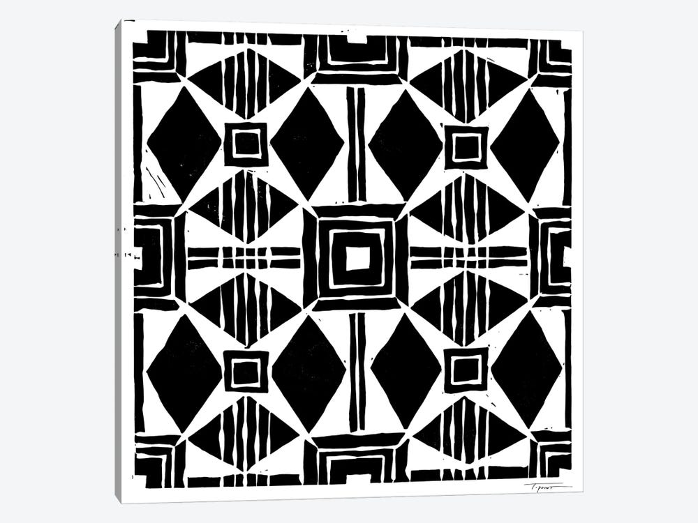 Spanish Inspired Tile by Statement Goods 1-piece Canvas Wall Art