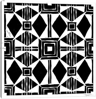 Spanish Inspired Tile Canvas Art Print
