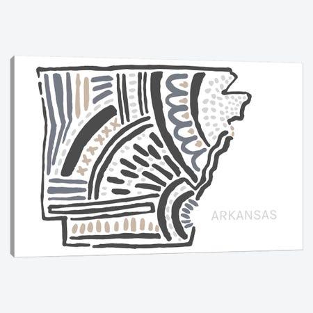 Arkansas Canvas Print #SGD6} by Statement Goods Canvas Art