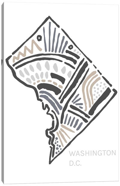 Washington D.C. Canvas Art Print