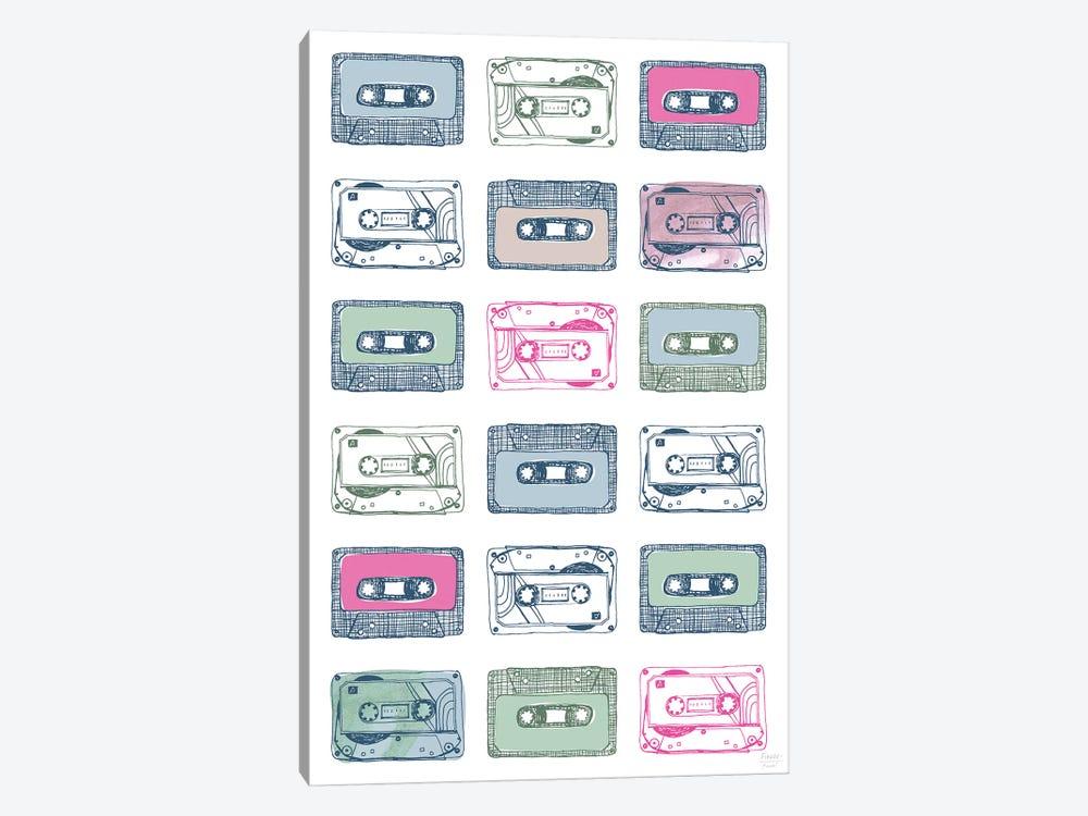 Cassettes by Statement Goods 1-piece Canvas Art Print