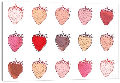 Strawberries Canvas Art Print