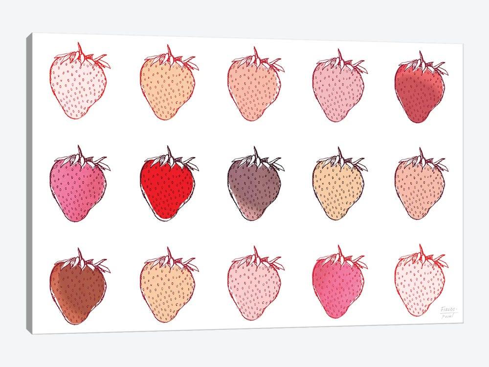 Strawberries by Statement Goods 1-piece Canvas Wall Art